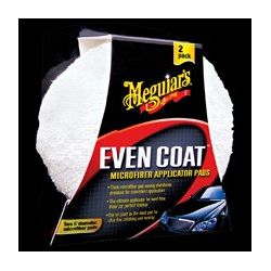 Meguiars Even Coat Microfiber Application Pads. (pack of 2)