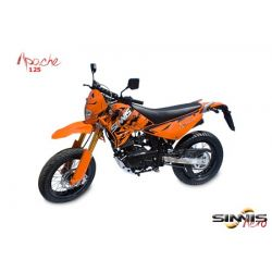 Sinnis Apache 125cc Super Moto Motorcycle