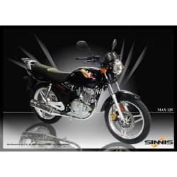 Sinnis Max 125cc Commuter/Learner Motorcycle