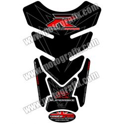Motografix Tank Pad - R Factory Racing Black