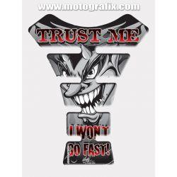 Motografix Tank Pad - 'Trust Me' Graphic