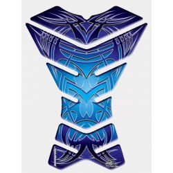 Motografix Tank Pad - Blue Graphics