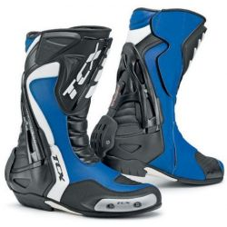 TCX Racing Line Motorcycle Boot Competizione S Blue/Black