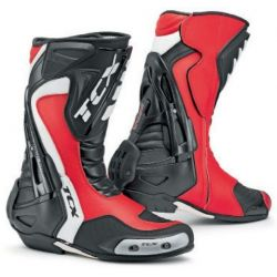 TCX Racing Line Motorcycle Boot Competizione S Red/Black