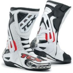TCX Racing Line Motorcycle Boot Competizione RS White