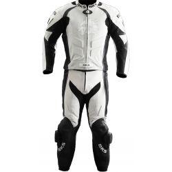 BKS White Silverstone 2 Piece Suit