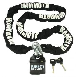 Mammoth 10mm Square Lock & Chain