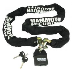 Mammoth 12mm Hexagon Lock & Chain - 1.8m Length