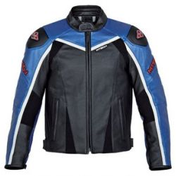 M-Tech J.Raptor Blue Black Leather Jacket