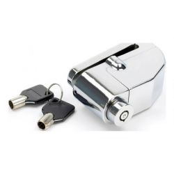 Mammoth Chrome Alarmed Disc Lock With 6mm Pin