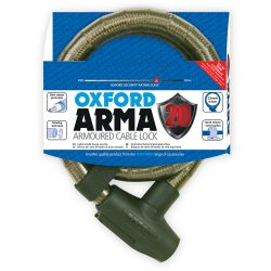 Arma20 Armoured Cable Lock 0.9m - Smoke