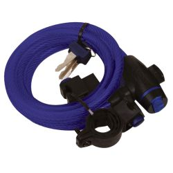 Oxford Cable Lock 12mm x 1800mm - Blue