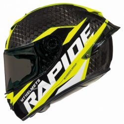 RAPIDE PRO CARBON (KIDS) (NEW 2019) BLACK/FLU.YELLOW