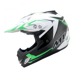 MX2 (KIDS) STEEL BLACK/WHITE/GREEN