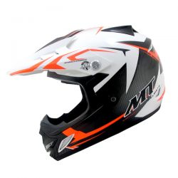MX2 (KIDS) STEEL BLACK/WHITE/ORANGE