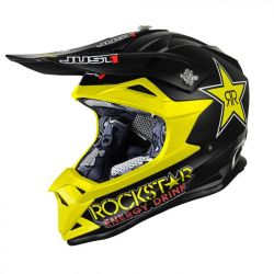 Just1 J32 Pro Kids ACU Gold MX Helmet - Rockstar