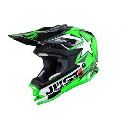Just1 J32 Pro Kids ACU Gold MX Helmet - Green