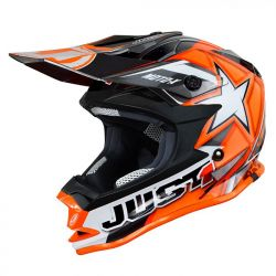 Just1 J32 Pro Kids ACU Gold MX Helmet - Orange