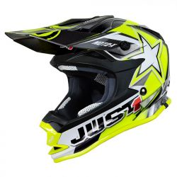 Just1 J32 Pro Kids ACU Gold MX Helmet - Yellow