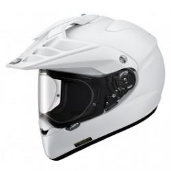 SHOEI HORNET ADV PLAIN WHITE