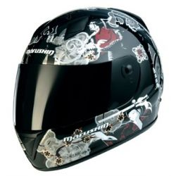 Marushin MAR109 Daisho Black Full Face Helmet