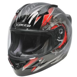 Xpeed XF705 Quest MC1 Helmet Black-Red