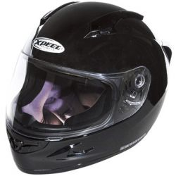 Xpeed XF708 Solid Helmet Gloss Black