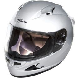 Xpeed XF708 Solid Helmet Silver