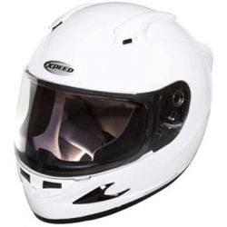 Xpeed XF708 Solid Helmet White