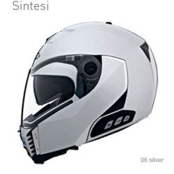 Caberg Sintesi Silver Helmet