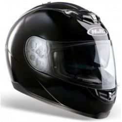 HJC FS11 Plain Black Helmet