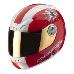 Scorpion EXO-400 Helmet Impact Red