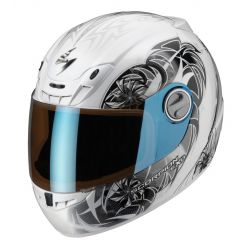 Scorpion EXO-400 Helmet Spectral White