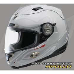Scorpion EX01000 Air Fit Silver Helmet