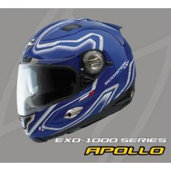 Scorpion EX01000 Air Fit Matt Blue Helmet