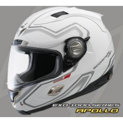 Scorpion EX01000 Air Fit Matt White Helmet