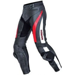 MTECH Contact Leather Jean Black/Red/White