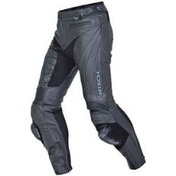 MTECH Contact Leather Jean Black