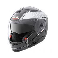 Caberg Hyper X Mod Black/Silver Helmet