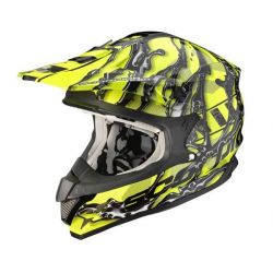 Scorpion VX15 Air Oil Black/Yellow