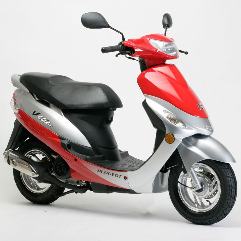 peugeot 50cc v clic scooter poole moto. Black Bedroom Furniture Sets. Home Design Ideas