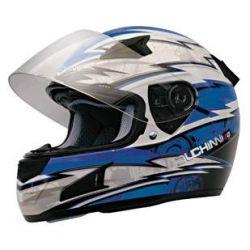 Duchinni D429 Full Face Helmet with Drop Down Sunshield