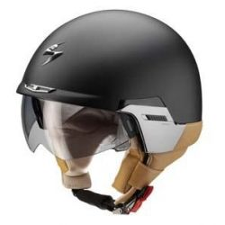 Scorpion EXO-100 Matt Black Padova Open Face Helmet