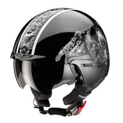 Scorpion EXO-100 Black Padova Open Face Helmet