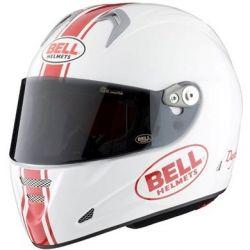 BELL M5X DAYTONA WHITE/RED