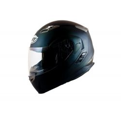 MT Flux Flip Front Helmet Awith Internal Visor Matt Black