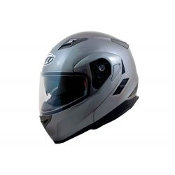 MT Flux Flip Front Helmet with Internal Visor White