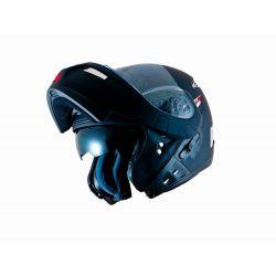 MT Raptor Flip Front Helmet with Internal Visor Matt Black