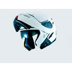 MT Raptor Flip Front Helmet with Internal Visor Matt Black