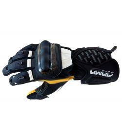 Armr XP-9 Motorcycle Glove Black White